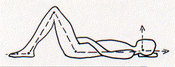 semi-supine